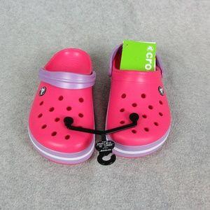 Woemsn Pink Crocs